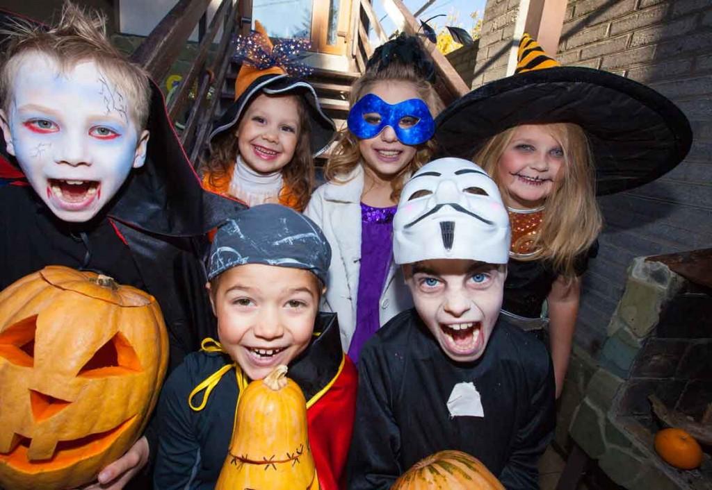Halloween Brauch Kinder
