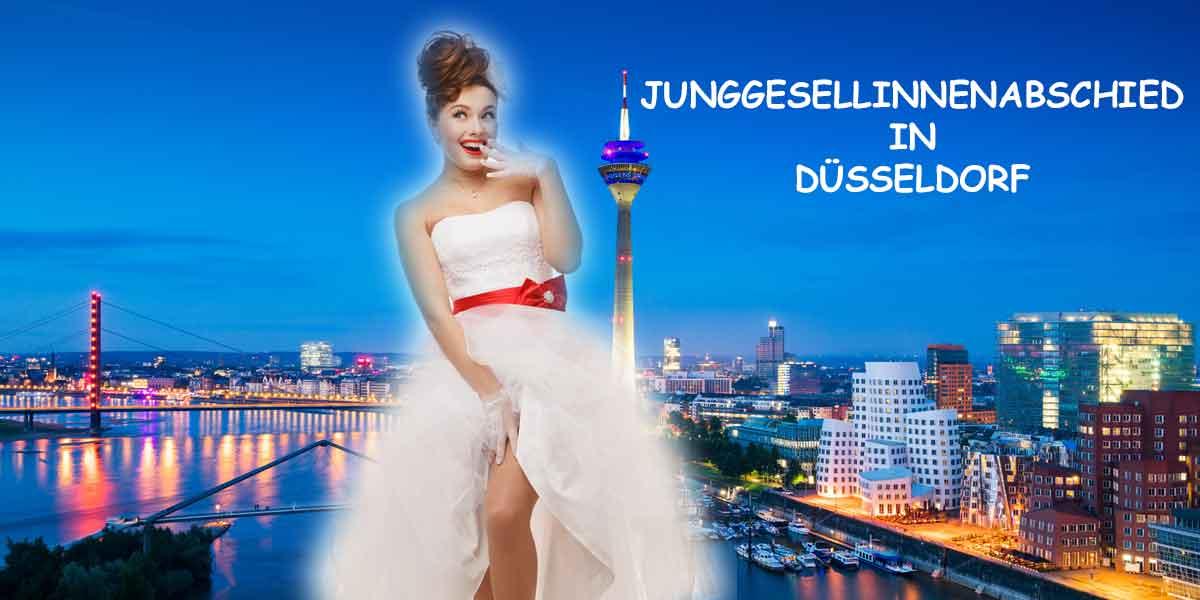 JGA Düsseldorf Junggesellinnenabschied