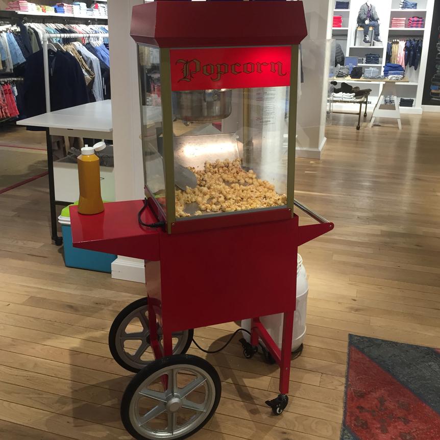 erlebnis popcornmaschine in d sseldorf mieten. Black Bedroom Furniture Sets. Home Design Ideas