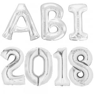 Folienballons Abi 2018