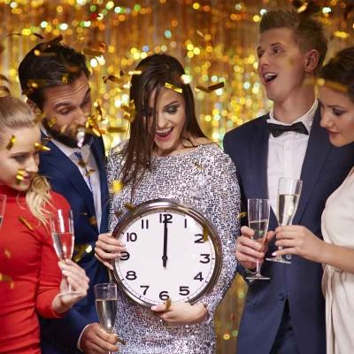 silvester party planen