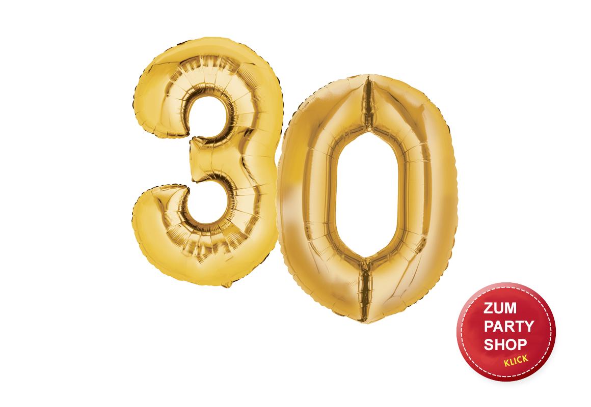 30. Geburtstag Party Ideen