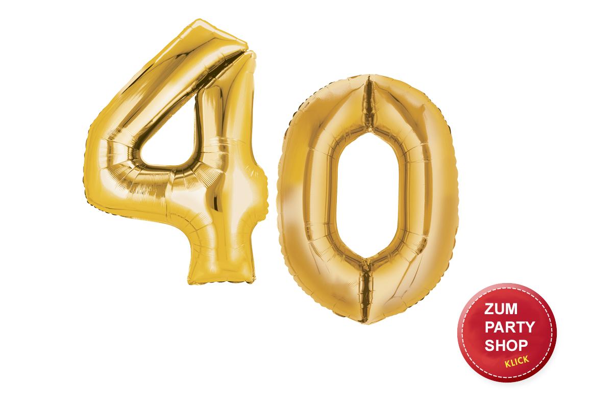40. Geburtstag Party Ideen