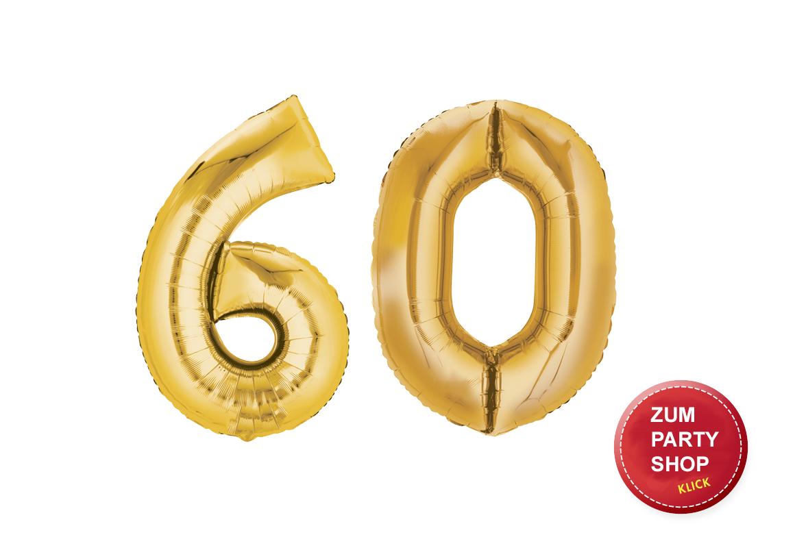 60. Geburtstag Party Ideen
