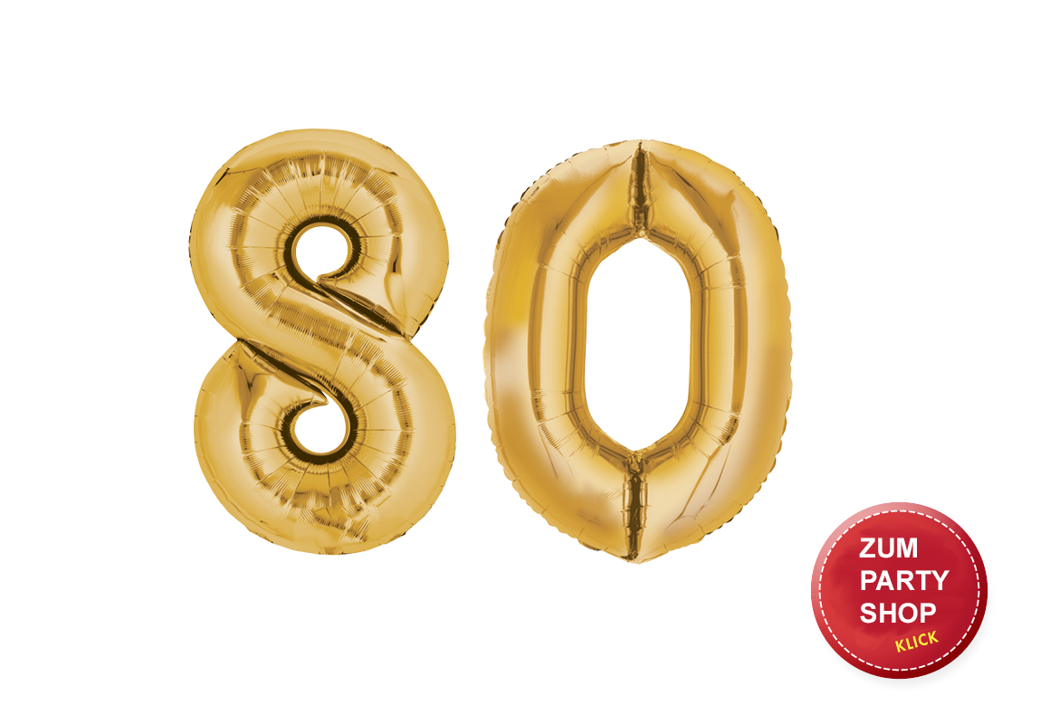 80. Geburtstag Party: Ideen und Tipps für Ihre Planung