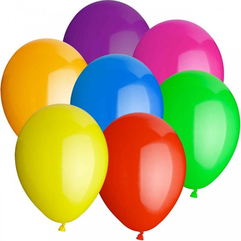 Bunte Luftballons Schulfest