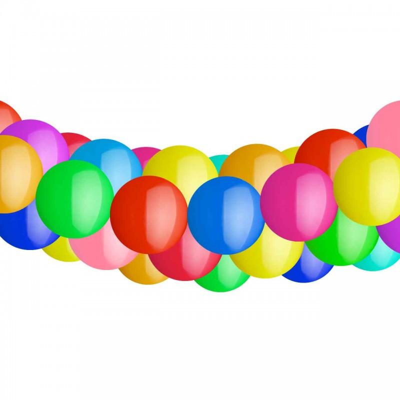 Luftballin Girlande