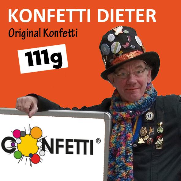 Konfetti Dieter Felsner confetti