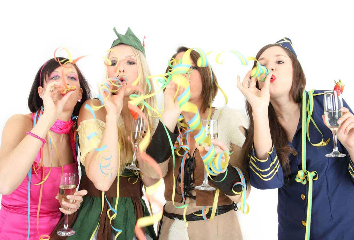 Silvester Karnevals Party Ideen