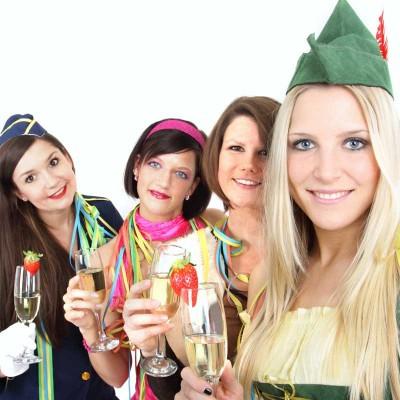 silvester karnevals party