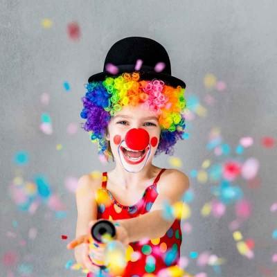 konfetti karneval party kinder