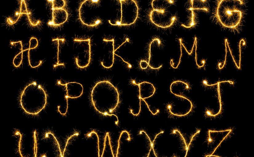 Wunderkerzen Buchstaben kaufen