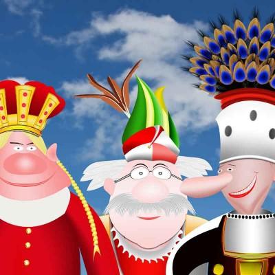 karneval prinz bauer hofnarr