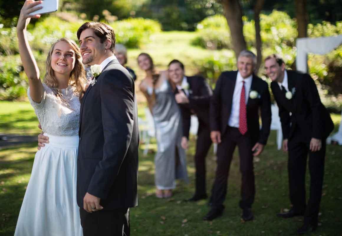 Hochzeit Social Media