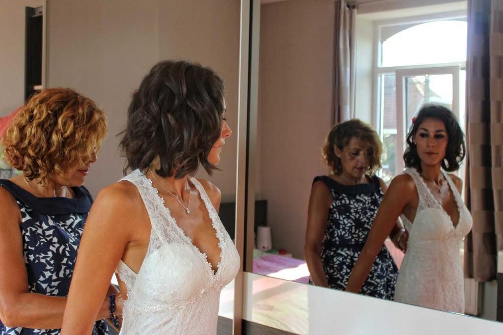 Hochzeitstag Vorbereitung